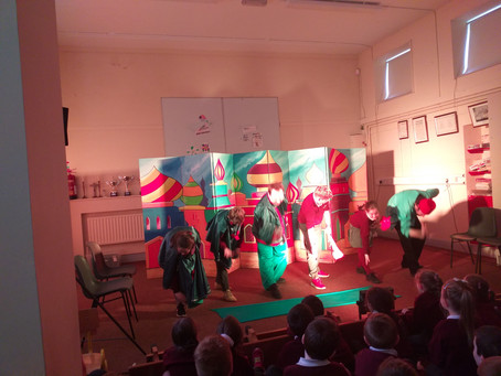 """West Midlands Children's Theatre performs """"The Blue Bird of Happiness"""""""