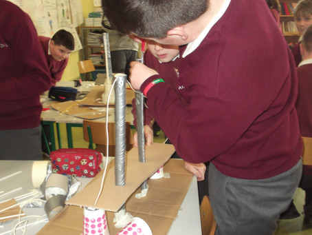 What makes bridges so strong? 5th & 6th Class investigated during Engineers Week