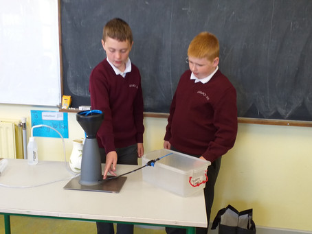5th & 6th Class Science Blast Project-                        What is a water tower designed to do?