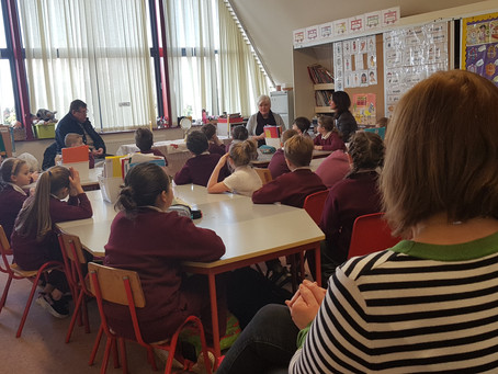 1st and 2nd Class Get a Special Visitor