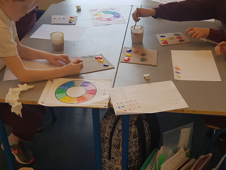 Colour mixing in 3rd and 4th