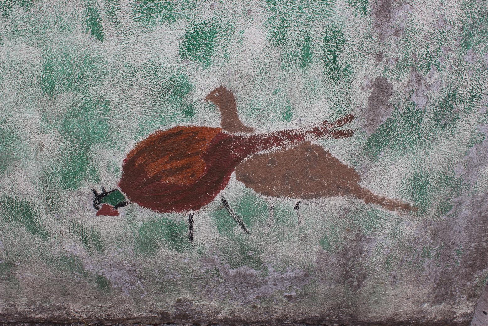 Pheasants Grazing