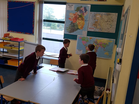 Competitive Maths in 3rd and 4th!