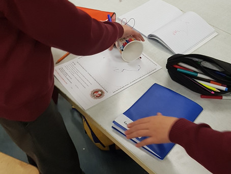 Science Week Activities . Building Scribble Robots