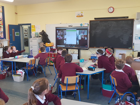 3rd and 4th class meet some real Research Scientists