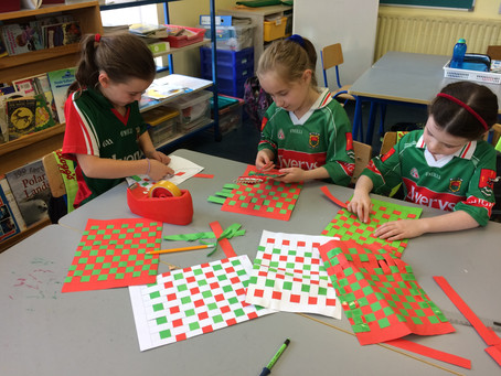 3rd & 4th support Mayo's Gaelic Football Team in anticipation of Sam's Homecoming.