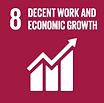 Global Goals _8 goal decent work economi