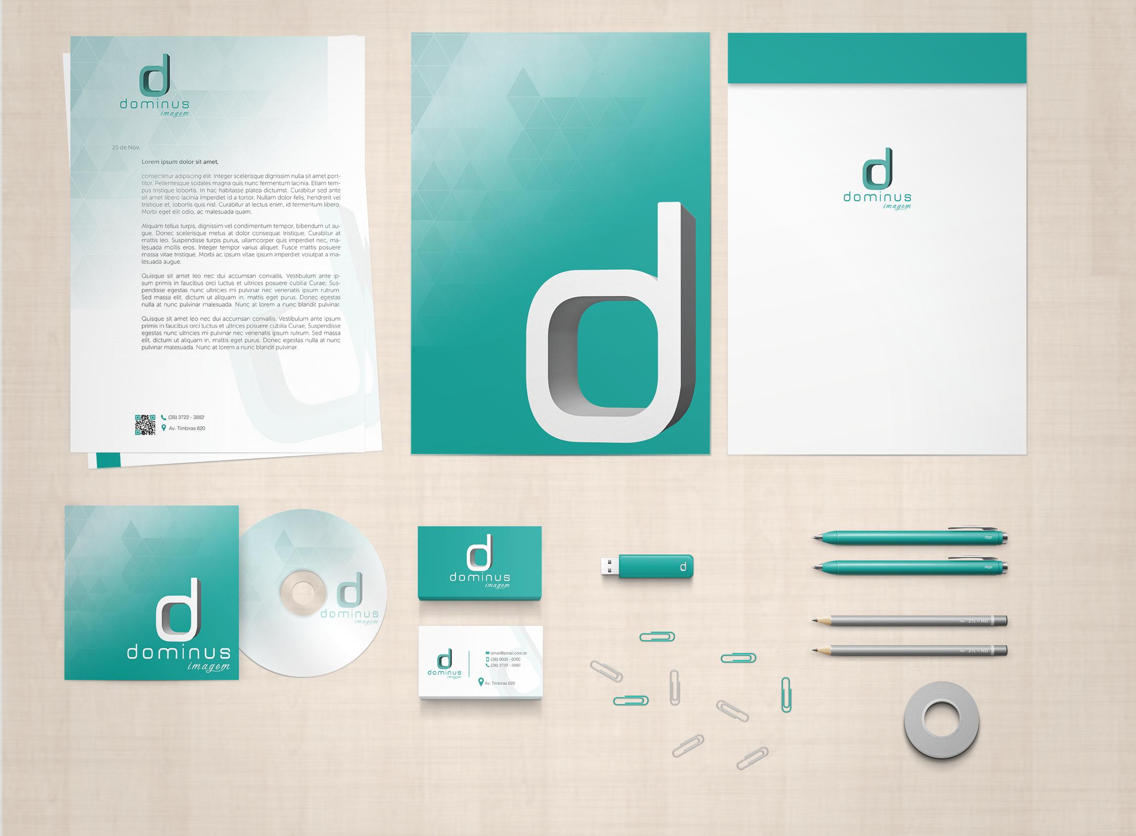 Identidade Visual - Dominus Imagem
