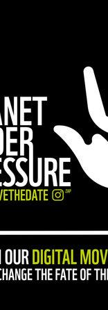 PLANET UNDER PRESSURE  è un progetto di allestimento di uno spazio espositivo sul tema della sostenibilità ambientale che, facendo parte della mostra Digitale Sostenibile, ha come tematica chiave il legame tra sostenibilità e digitale. Trovandosi all'inizio del percorso espositivo, Planet Under Pressure vuole essere il filtro attraverso il quale il visitatore si prepara ad una visione critica e consapevole dell'intera esposizione. Ed è per questo che, partendo dalla riflessione sull'aspetto più conosciuto della sostenibilità, ossia quello ambientale, il progetto si pone l'obiettivo di coinvolgere emotivamente il visitatore grazie all'empatia digitale, trasmessa dai sistemi digitali, per spingerlo a riflettere consapevolmente su se stesso come individuo e come parte di una comunità di persone che esercitano una pressione sul Pianeta.   Francesca Falli - Mirko Burberi