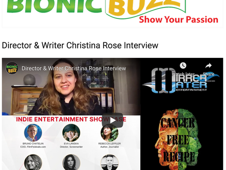 Bionic Buzz / Interview with Christina Rose
