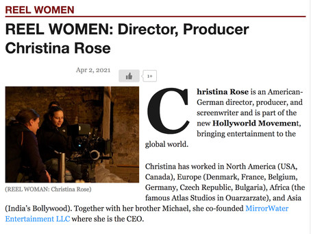 REEL WOMEN INTERVIEW w/ Christina Rose