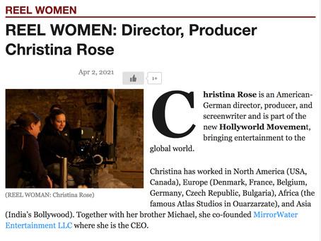 REEL WOMEN INTERVIEW w/ Christina Rose