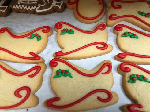 Christmas Sleigh Cookies