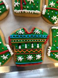 Green Christmas Sweater Cookie.jpg