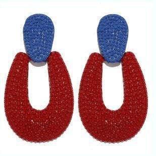 Antonia -Red Earrings