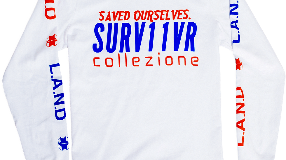 Saved Ourselves Long Sleeve Tee