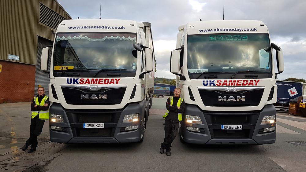UK Sameday : Jack & Jordan