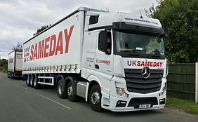 UK Sameday Haulage Lorry Delivery Service
