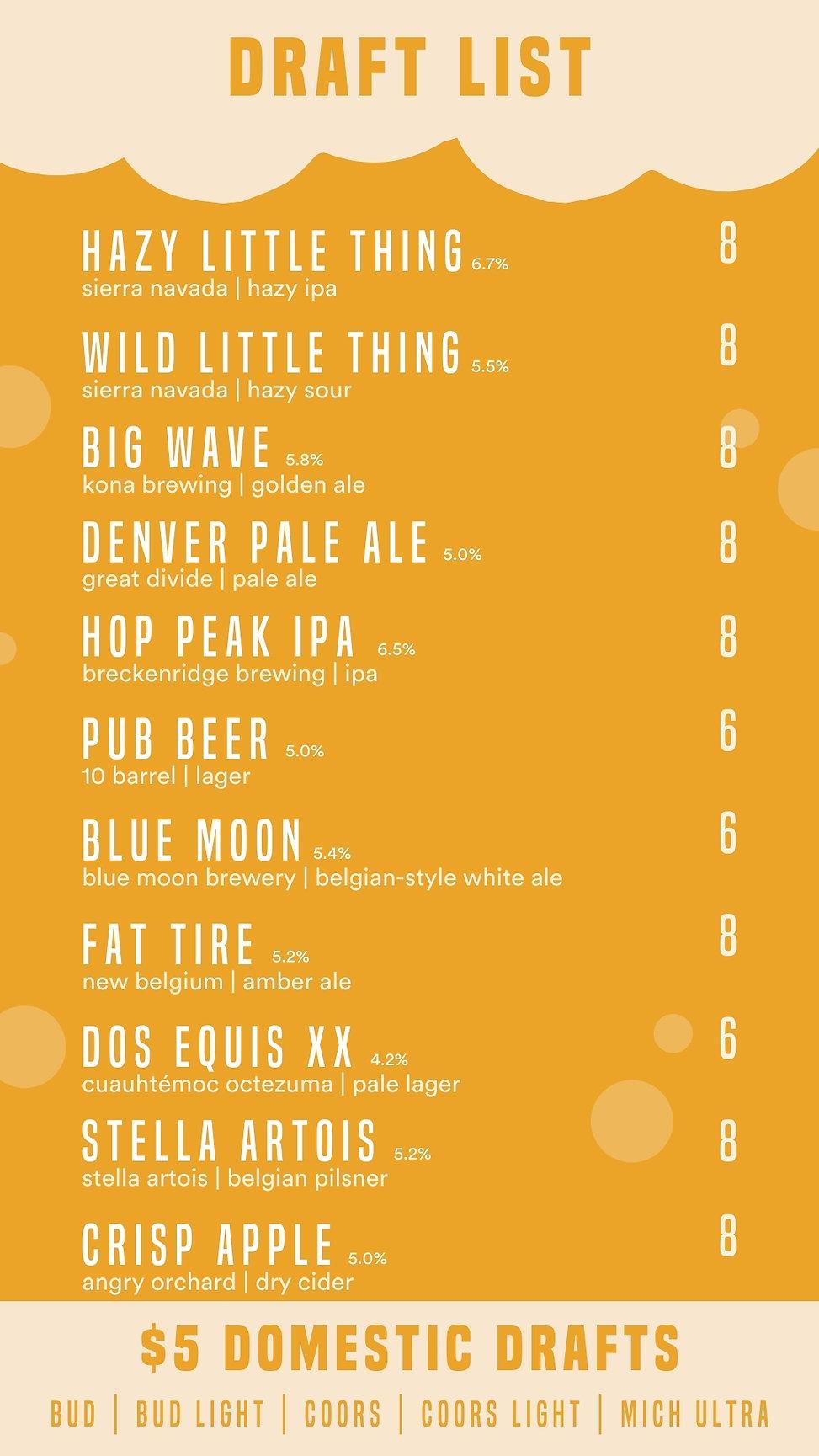 Lodo's DT COVID beer menu 1 - portrait (