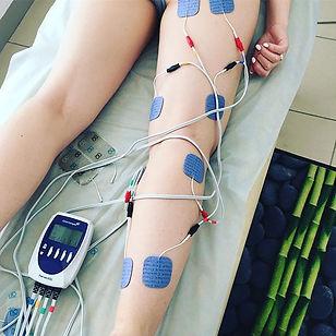 лечение болей в бедре и голени, миостимуляция оренбург