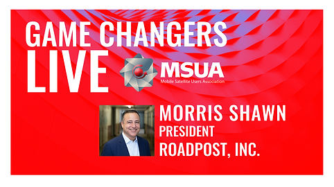 Game Changers LIVE Morris Shawn Roadpost