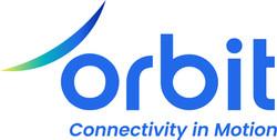 Orbit logo with tagline Blue and gradient RGB