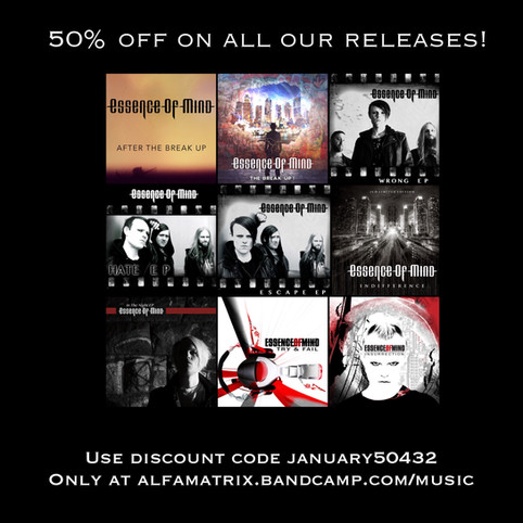 50% on all our digital releases!