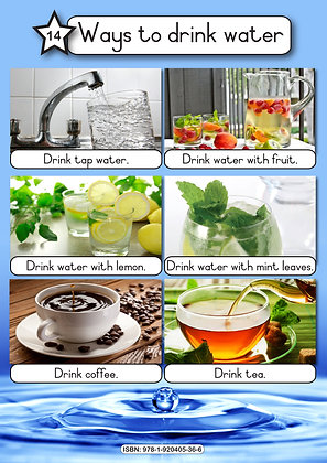 Ways to drink Water