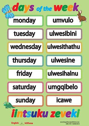 Days of the Week - IsiXhosa