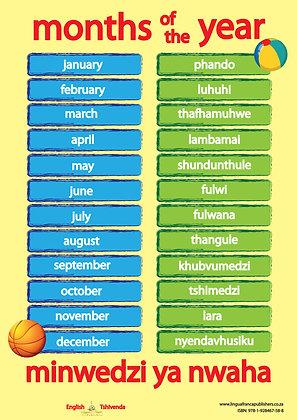 Months - Tshivenda