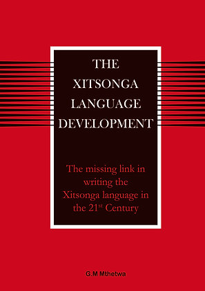 The Xitsonga Language Development