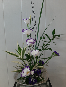 Ikebana Purple