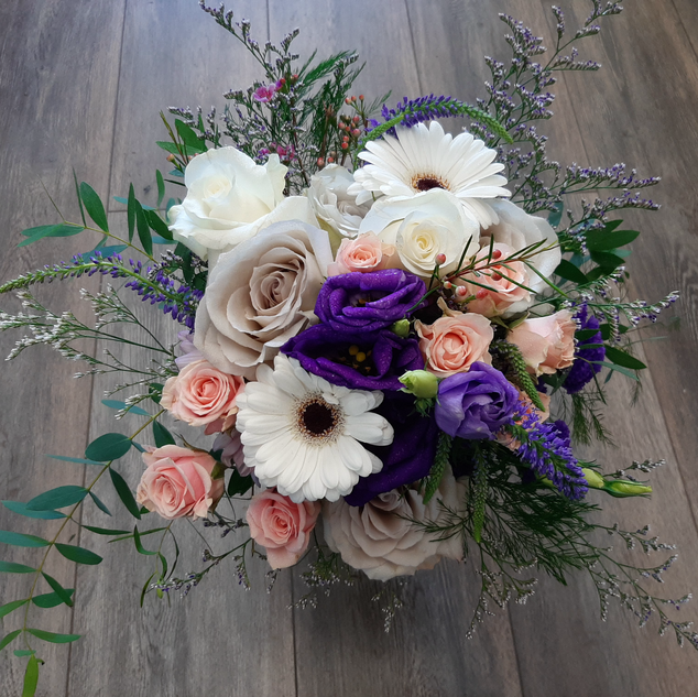 Blush & Purple Bouquet