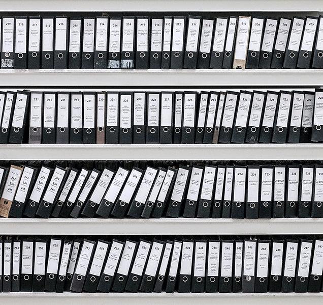 Organisierte Dateien