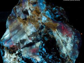 Calcite, Sphalerite, Hydrozincite, Fluorite - Columbia Mine, Marion KY