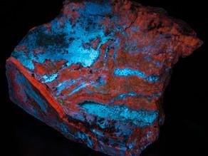 Calcite and Hydrozincite - Beaver, UT