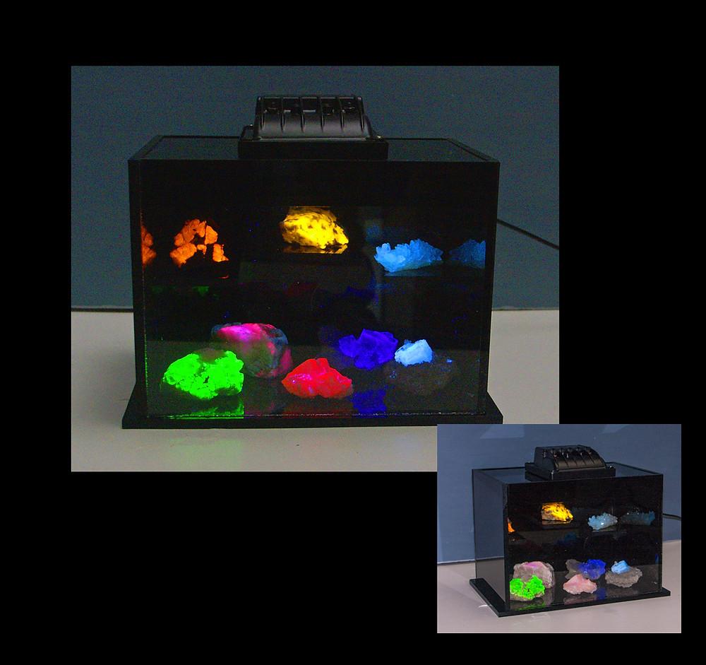 Longwave display using OP3 and acrylic