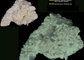 Hydroxylherderite - Buckfield, Maine