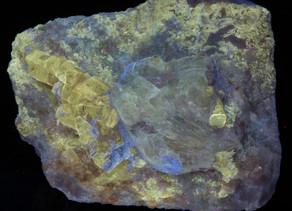 Sodalite (Hackmanite) and Gem Phlogopite - Afghanistan