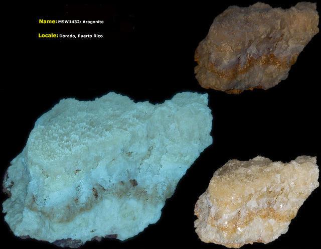 Aragonite - Dorado, Puerto Rico