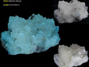 Witherite Crystals - Minerva #1 Mine, Cave-in-Rock, IL