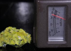 Like Hot Rocks?  Autunite from the Daybreak Mine, Spokane, WA