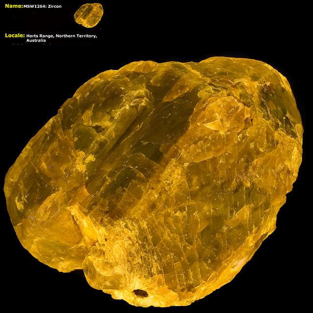 Zircon Crystal - Harts Range, Australia