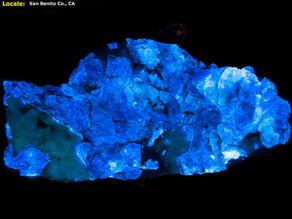 Benetoite Crystal Plate - San Benito Co. CA