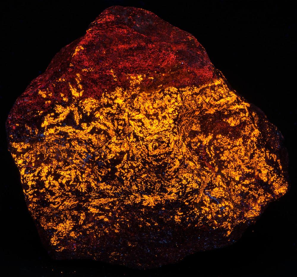 Wollastonite - Jakobsberg Mine, Sweden