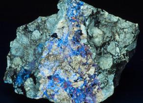Hydrozincite and Barite - Wilder's Prospect, Dekalb County, TN