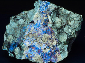 Hydrozincite and Barite - Wilder's Prospect, Dekalb County, TN