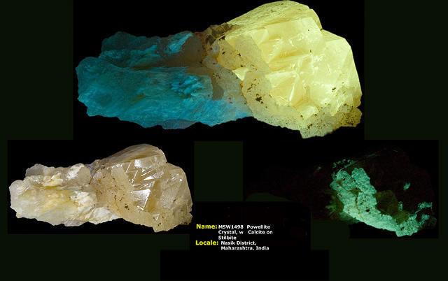 Powellite Crystal - Maharashtra, India