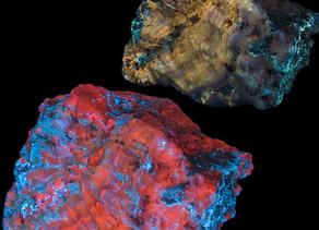 Calcite, Hydrozincite - Hurricane, Utah