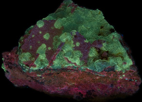 Quartz - Smokey Crystals on Barite - CT